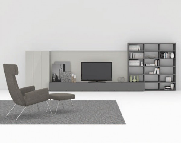 Living composition Spazioteca collection SP142