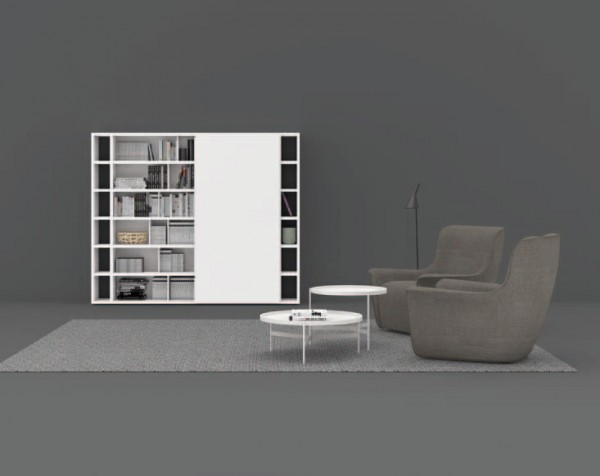 Living composition Spazioteca collection SP105