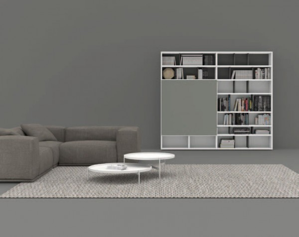 Living composition Spazioteca collection SP107
