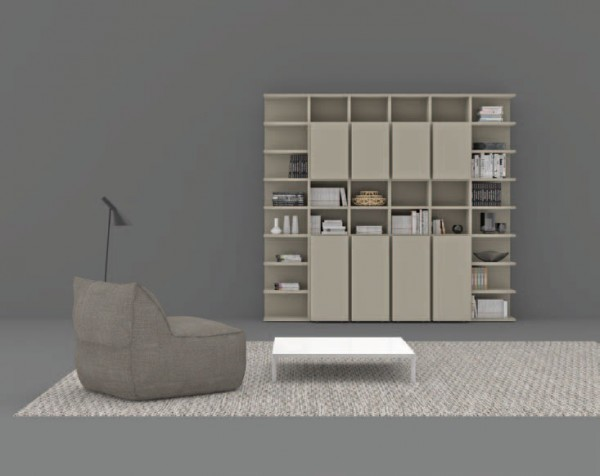 Living composition Spazioteca collection SP109