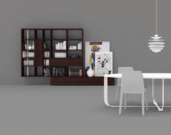 Living composition Spazioteca collection SP117