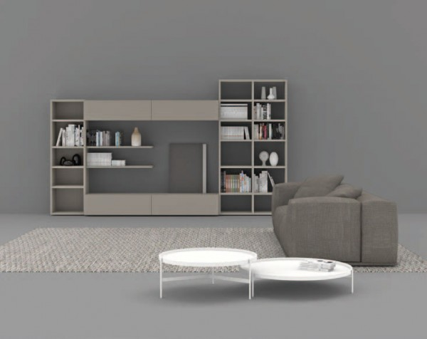 Living composition Spazioteca collection SP118