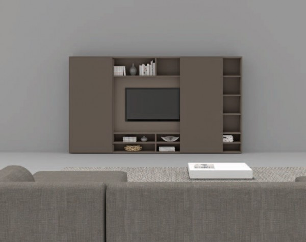 Living composition Spazioteca collection SP119