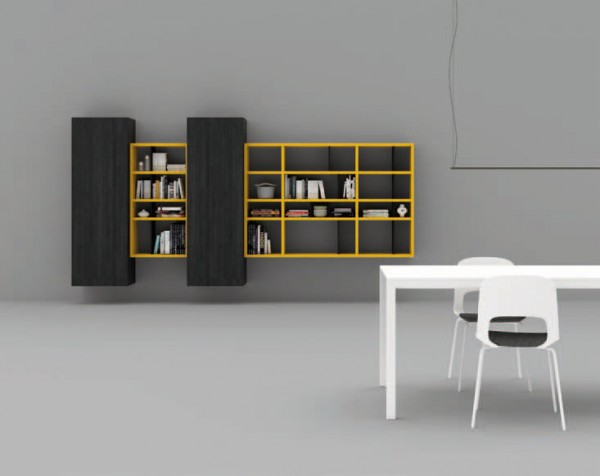 Living composition Spazioteca collection SP120