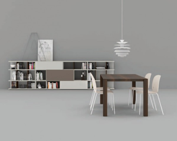 Living composition Spazioteca collection SP121