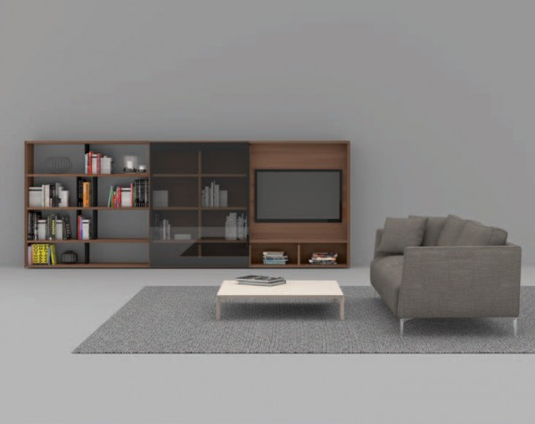Living composition Spazioteca collection SP122