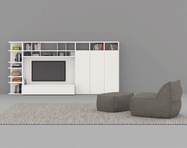 Living composition Spazioteca collection SP124