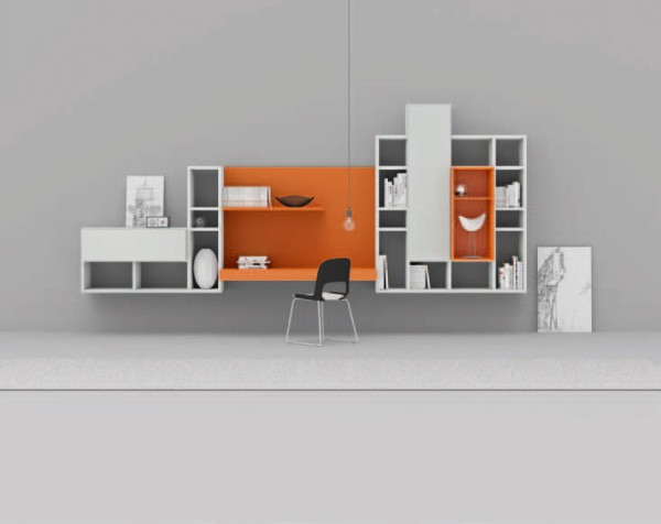 Living composition Spazioteca collection SP126