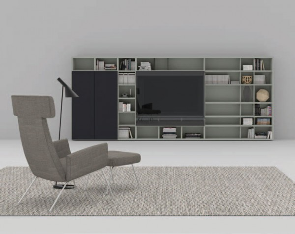 Living composition Spazioteca collection SP127