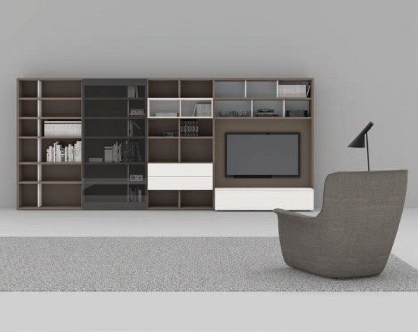 Living composition Spazioteca collection SP128