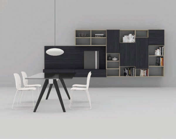 Living composition Spazioteca collection SP129