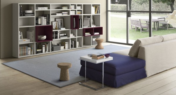 Living composition Spazioteca collection SP027
