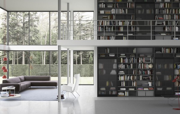 Living composition Spazioteca collection SP018
