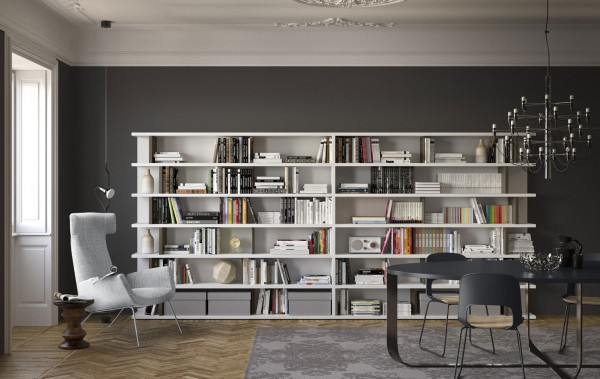 Living composition Spazioteca collection SP028