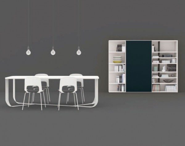 Living composition Spazioteca collection SP106